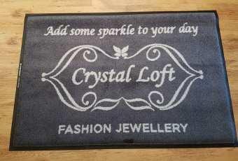 Crystal Loft logo mat 1