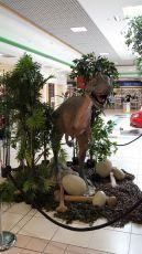 Dinosaur photo op 1