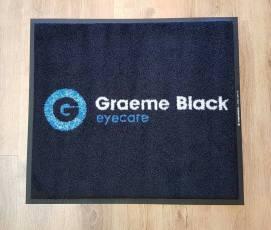 Graeme Black logo mat 1