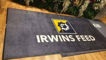 Irwins Feed logo mat 1
