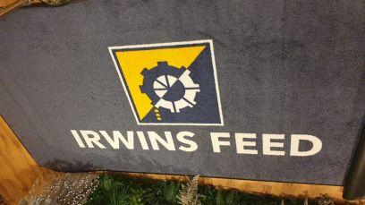 Irwins Feed logo mat 3