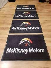 McKinney Motors logo mats 2