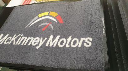 McKinney Motors logo mats 3