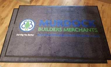 Murdock Builders Merchant logo mat 1