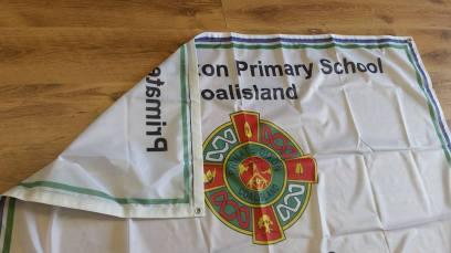 Primate Dixon school flag 2