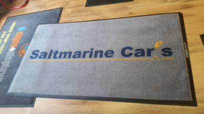 Saltmarine logo mat 1