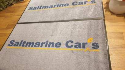 Saltmarine logo mat 2