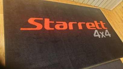 Starretts 4x4 logo mats 2