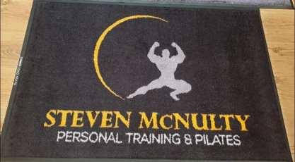 Steven McNulty PT logo mat 2