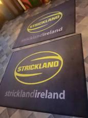 Strickland Ireland logo mat 2