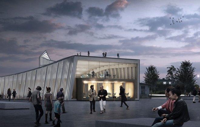 Pavillon Innovationspark Blumer Lehmann