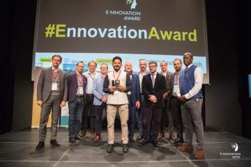 hexpressions.org gewinn E-nnovation Award 2018 in der Kategorie PropTech