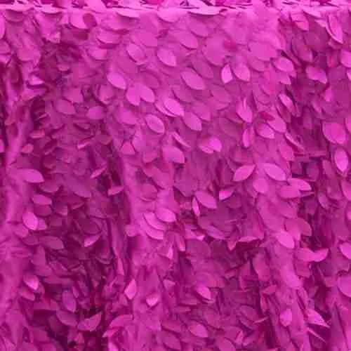 Leaf Petal Backdrop Fuschia