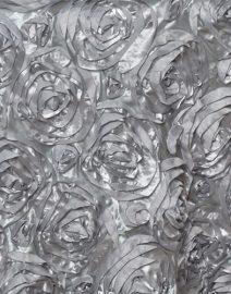 Rosette Backdrop Silver