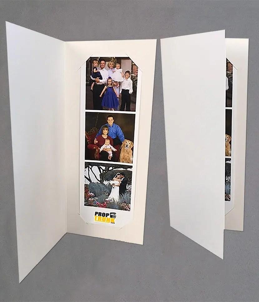 2 X 6 Simply White Or Black Photo Folder Proptrunkcom