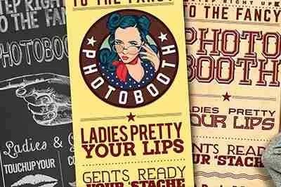 Photo Booth Banners