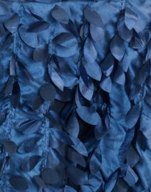 PropTrunk.com Navy Blue leaf petal Backdrop