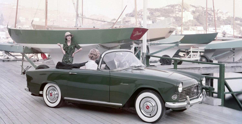 Audacieux Simca Océane cabriolet, élégance franco-américaine ! - Propulsion5 QD-56