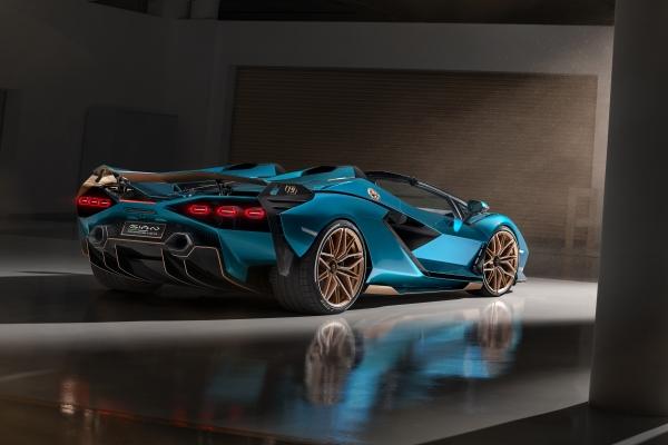 Lamborghini Sian Roadsterd