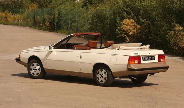 Renault Fuego cabriolet