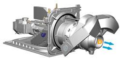 Hydrojet explication turbine