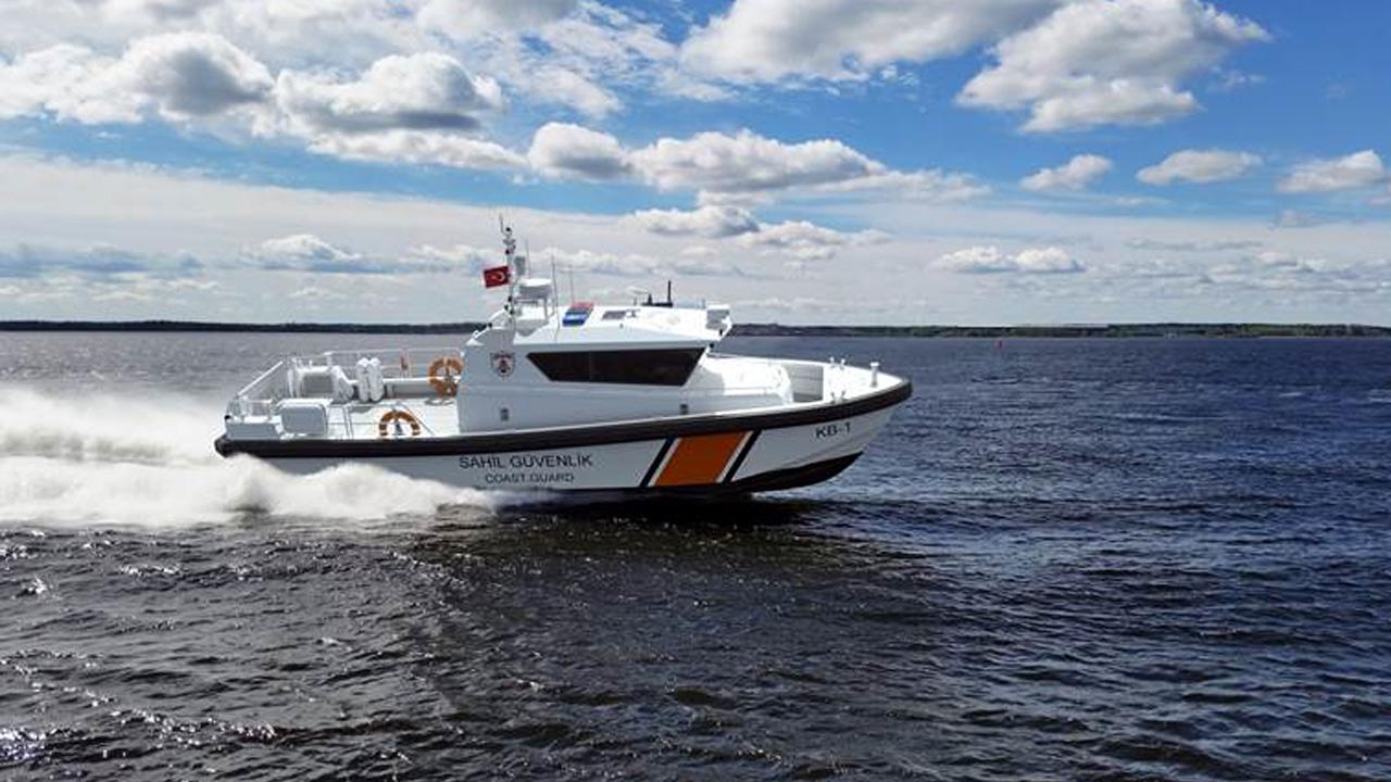 122 bateaux ARES 35 FPB pour la garde côtière turque seront équipés par HamiltonJet