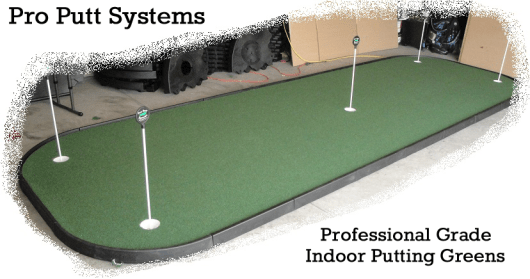 Indoor Golf Green