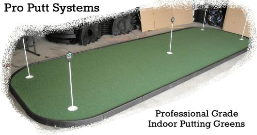 Indoor Golf Green