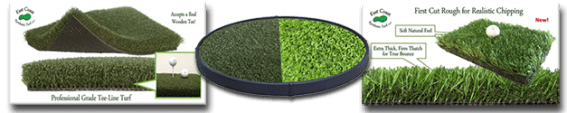 Custom Indoor Chipping Greens