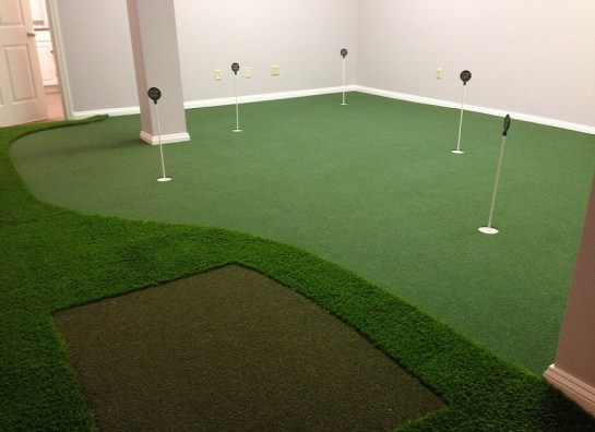 Wall to Wall Golf Room Install