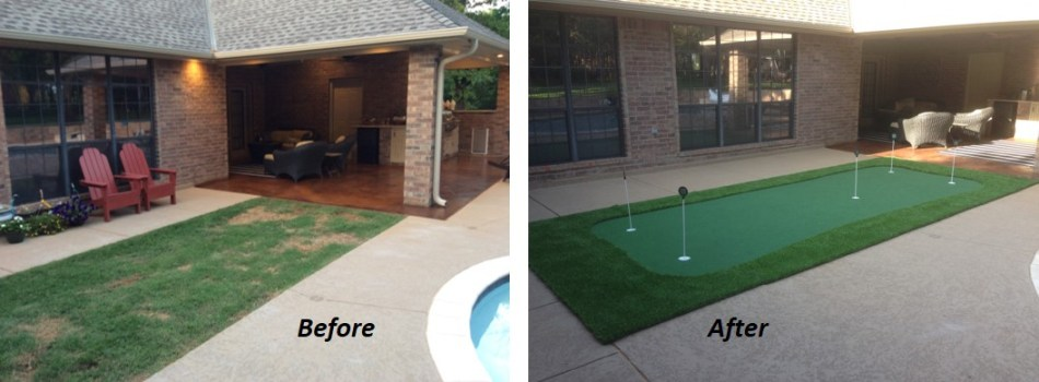Backyard Putting Greens Do It Yourself Do It Yourself