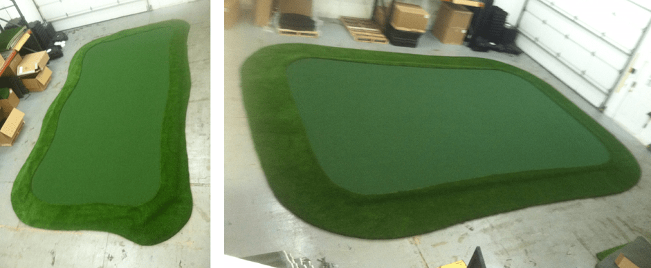 Do it yourself putting green kit