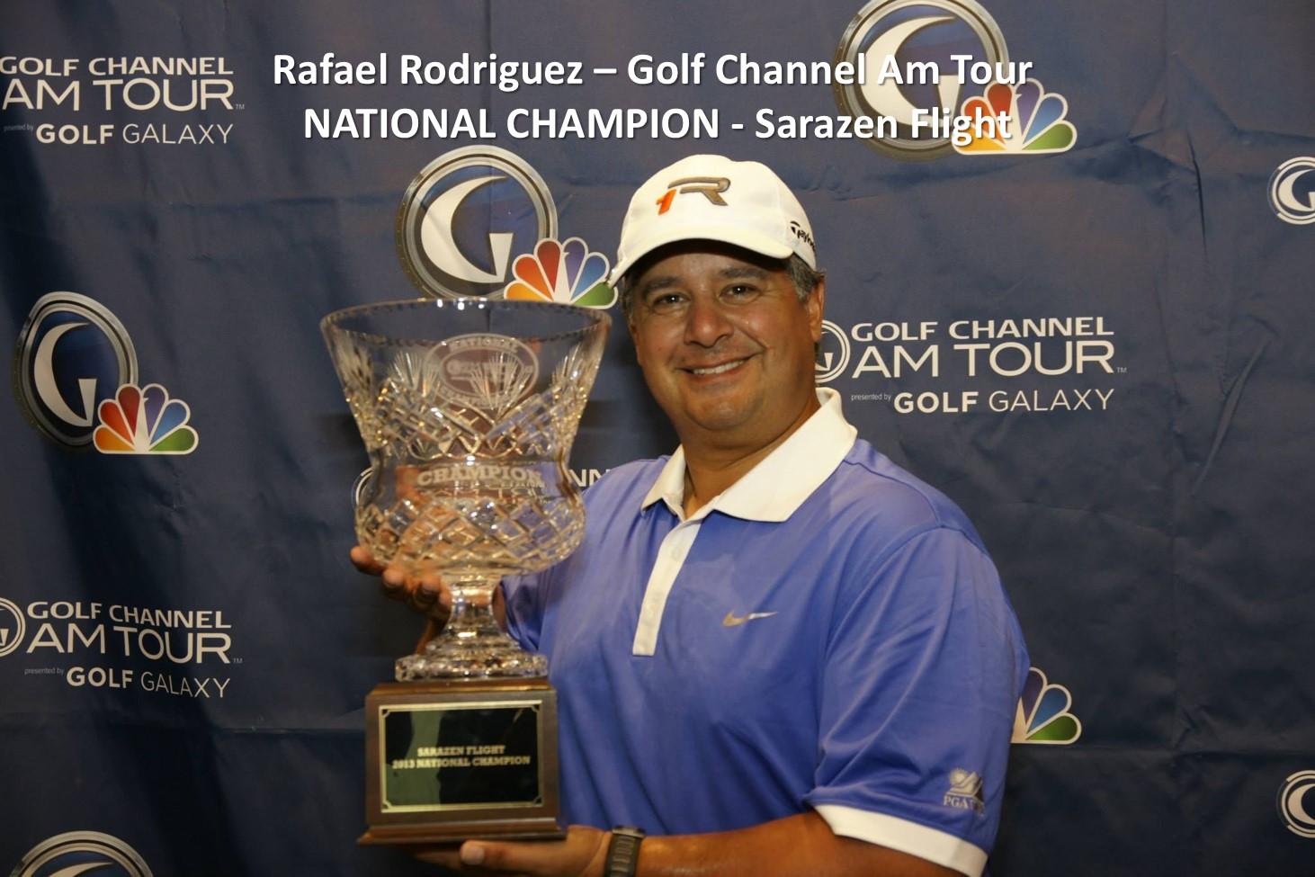 Congratulations, Rafael!