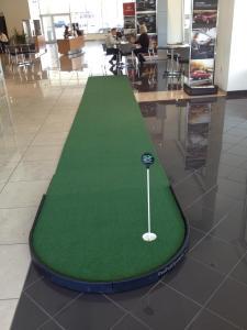 long putt putting green