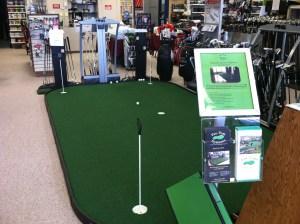 golf shop putting green