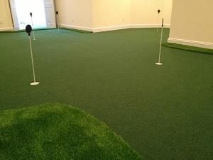 Residential Golf Room Installation