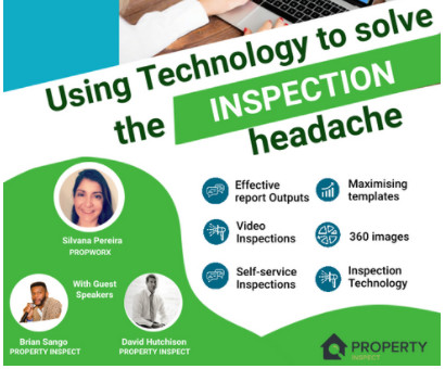Using technology to solve the inspection headache - Exclusive Property Management Webinars