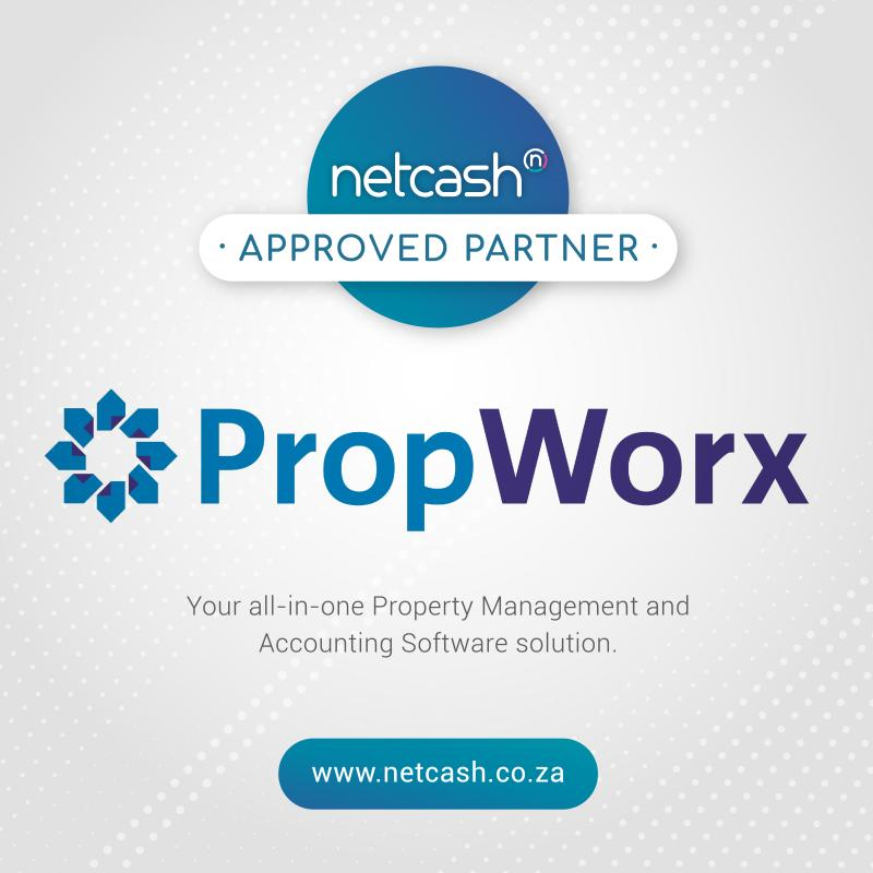 propworx Netcash approved partners property management software