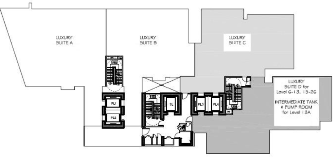 Moulmein rise the luxury suite by belleview penang for 1 moulmein rise floor plan