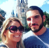 Candice LeRae, Johnny Gargano, wedding, Disney, Disneyland, CWC, wrestling, PWG, 2016