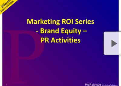 Brand ROI Series – Sponsorships, Placement and Events