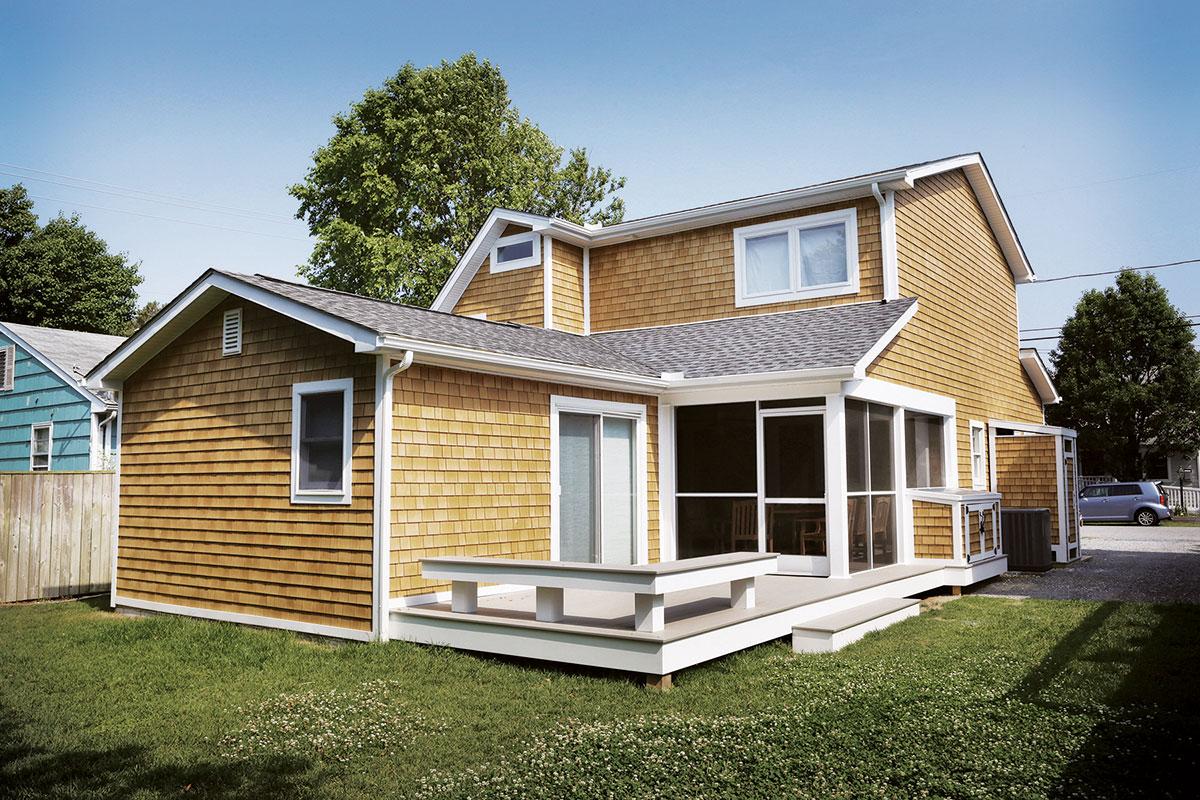 best siding for beach house