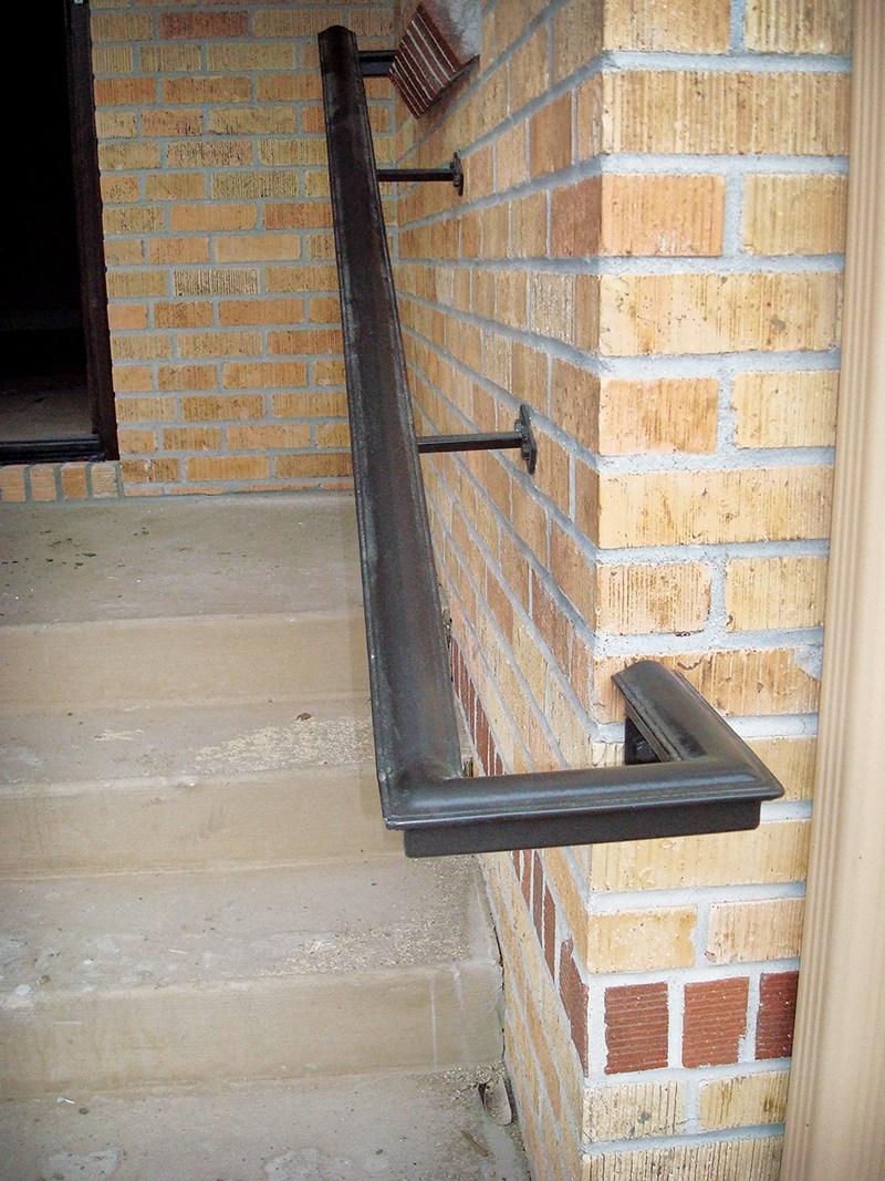 Beautiful Hazard Pro Remodeler | 2 Inch Round Wood Handrail | Stair Parts | Outside Diameter | Stair Treads | Handrail Brackets | Oak Wood