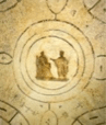 Annunciation - Catacombs of Priscilla