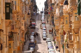 The streets of Vallette, Malta!