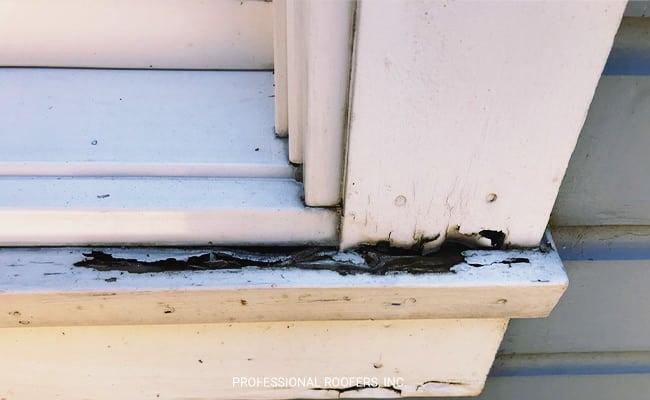 Damaged Windowsill