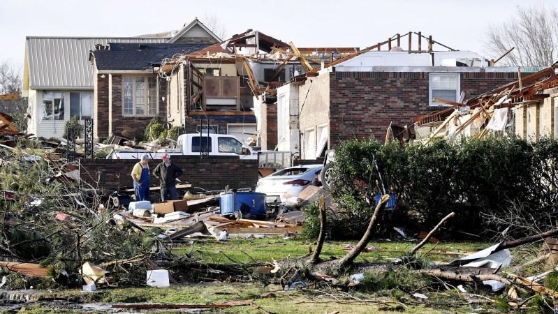 Nashville Tornado Damage 2020