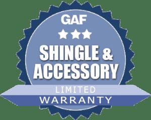 GAF Shingle & Accessory Warranty