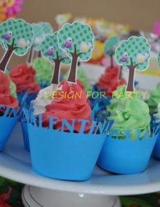 wrapers e toppers para cupcakes exclusivo