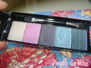 Fenzza make up, make, fenzza, paletta de sombras, resenha 2, SX2158 SOMBRAS 3D EVENING